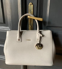 Furla szürke arany táska - eredeti!