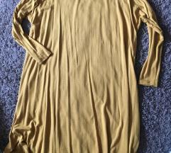 crystal line mustár színű ruha