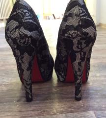37es Csipke platform cipő ingyen posta