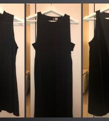 fekete ruha szett, alkalmi, nyári s
