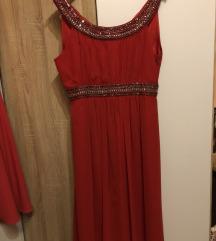 Piros női alkalmi ruha