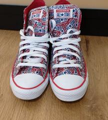 Converse magasszárú 40-es piros cipő