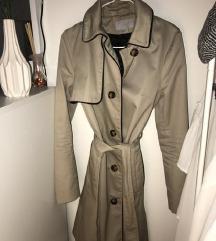 H&m divatos elegáns barna őszi kabát