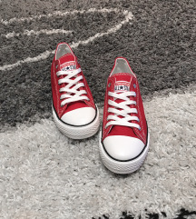 Converse piros cipő