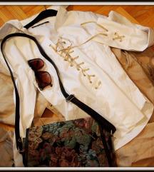 Vintage western fűzős ing (Tally S)