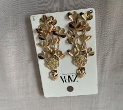 Új Zara Gold Earrings