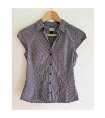 H&M kockás karcsúsított ing