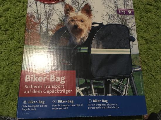 Trixie kutyakosár kerékpárra