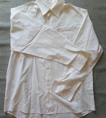 L - Fehér hosszúujjú férfi ing