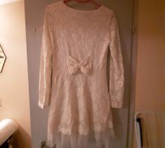 Gyönyörű bézs csipke ruha -50%!