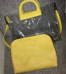 Átlátszó női táska