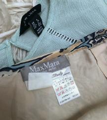 Max Mara hernyóselyem szoknya, megkötős, csodaszép