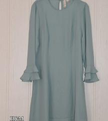H&M új ruha, tunika, menta 40/L