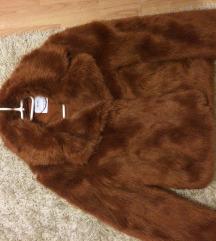 Bershka műszőrme kabát