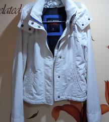Hollister fehér átmeneti dzseki