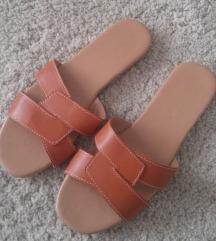 ASOS csinos barna nyári papucs