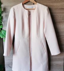 Halvány rózsaszín Reserved tavaszi kabátka