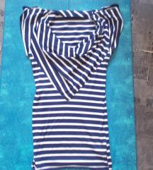 Matróz mintás ruha