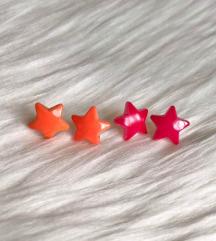 Új csillag fülbevalók