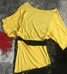 Sárga különleges felső/tunika s/m