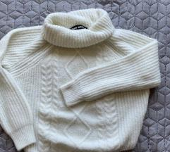 tally cropped kötött pulcsi