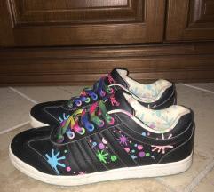 Fekete deichmannos cipő