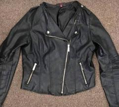 New Look fekete műbőr jacket