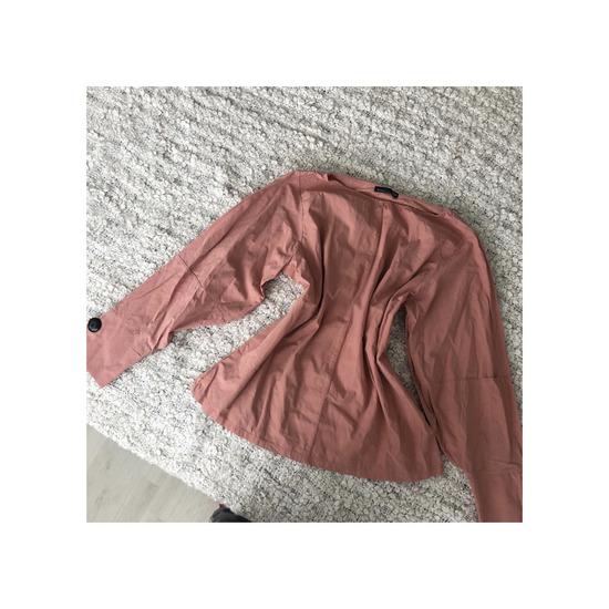 ZARA dusty pink csinos blúz
