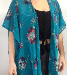 Lenge kék kimonó