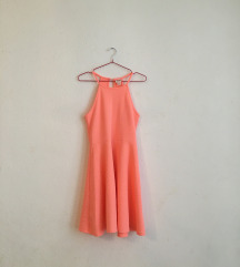 Neonpink mini nyári ruha