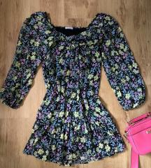 Virágmintás ruha