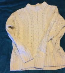 Fehèr kötött pulóver,H&M