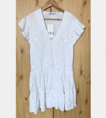 Zara fehér nyári ruha
