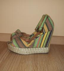 SMH Shoes platform szandál