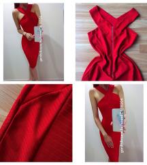Piros bandage ruha