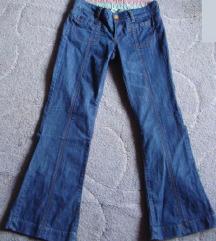 M, 38 - Denim női kék farmernadrág, hosszúnadrág