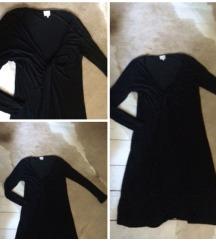 Új csavart sliccelt ruha, felső 103 cm hosszú