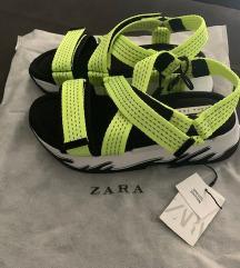 Zara neon szandál 37 Új!