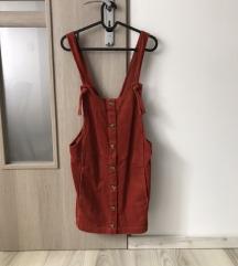 Pull&bear piros kantáros szoknya