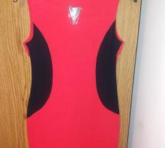 Új,piros alkalmi ruha