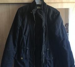 H&M fekete kabát