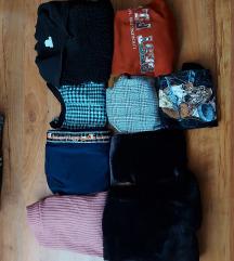 ruhacsomag+fekete szőrmekabát