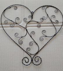 Szív dekoráció, dísz, ékszertartó, lakáskiegészítő