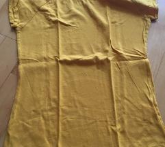 Mustár sárga rövid ujjú póló