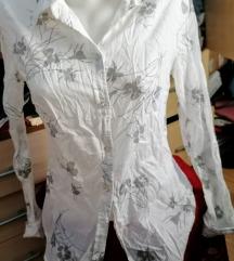 H&M, női, mintás ing, S-es