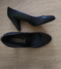 5Avenue csinos,fekete,alkalmi cipő