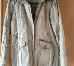 Khaki téli kabát