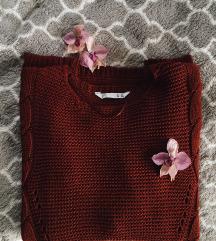 Csavartmintás kötött pulcsi