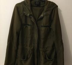 Khaki zöld kabát