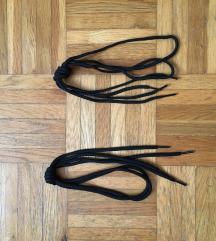 Fekete cipőfűző (nem használt)